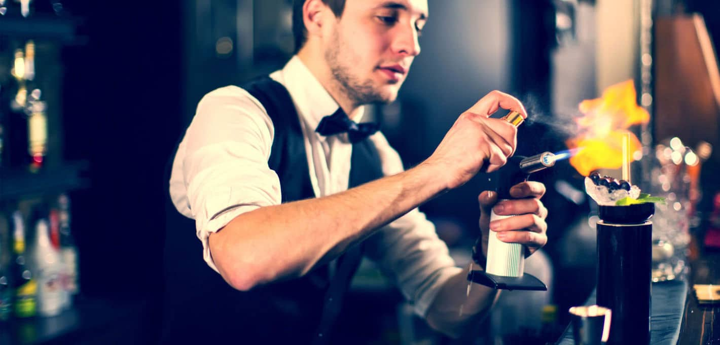 hire a bartender on the Sunshine Coast